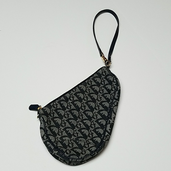 Christian Dior Bags   Navy Mini Saddle Bag   Poshmark 00656d188f